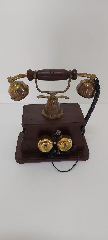 TELEFONO FIJO VINTAGE MARCACION RULETA