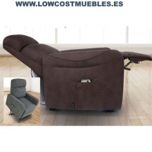 SILLON BUTACA POWER LIFT CHOCOLATE, ENVIOS EN 72 HORAS PORTES GRATIS
