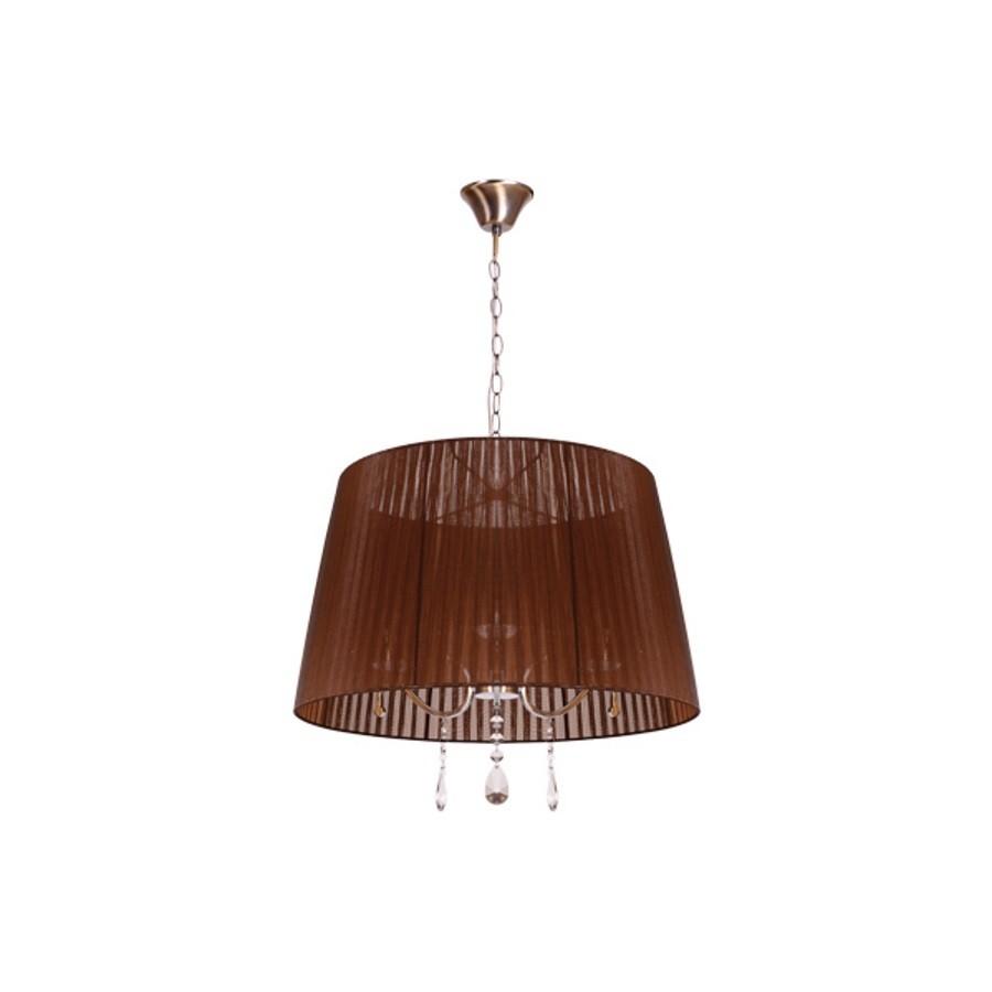 lampara colgante marron 50cm diametro 3 luces,ENVIOS GRATIS