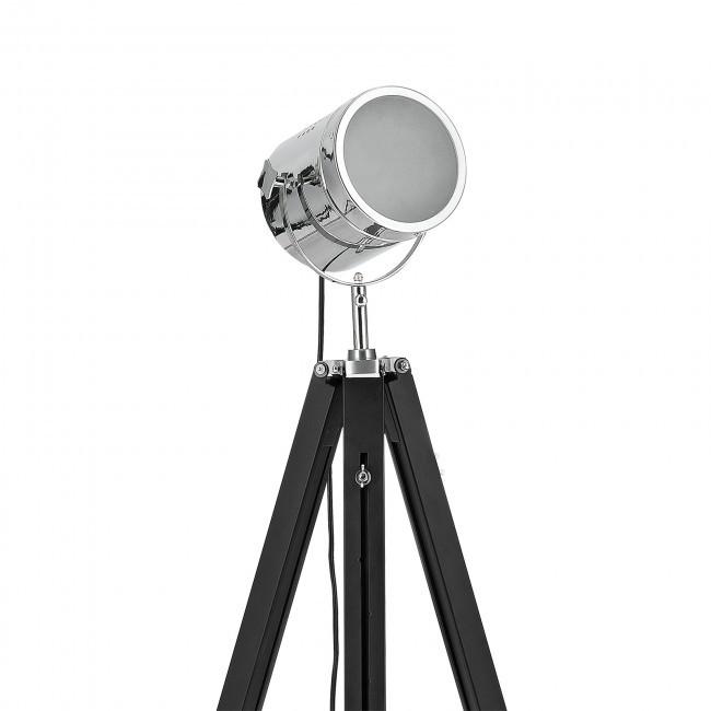 TRIPODE PIE NOBEL CROMO lámpara de pie tripode tipo industrial vintage, ENVIOS GRATIS