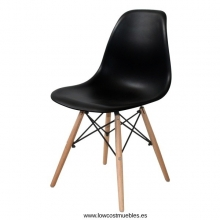 SILLA DSW EAMES TOWER INSPIRACION COLOR NEGRO,