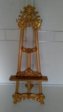 Atril de pie, soporte atril dorado alto 175 cm, Envios en 72 horas